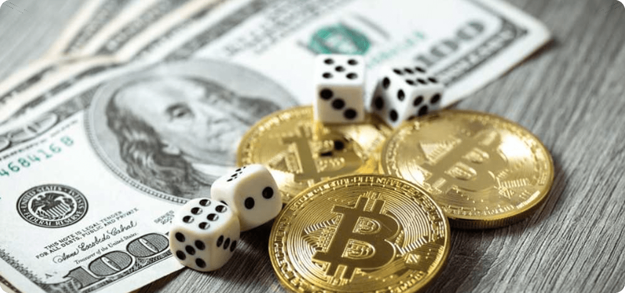 you own the money with crypto casinos