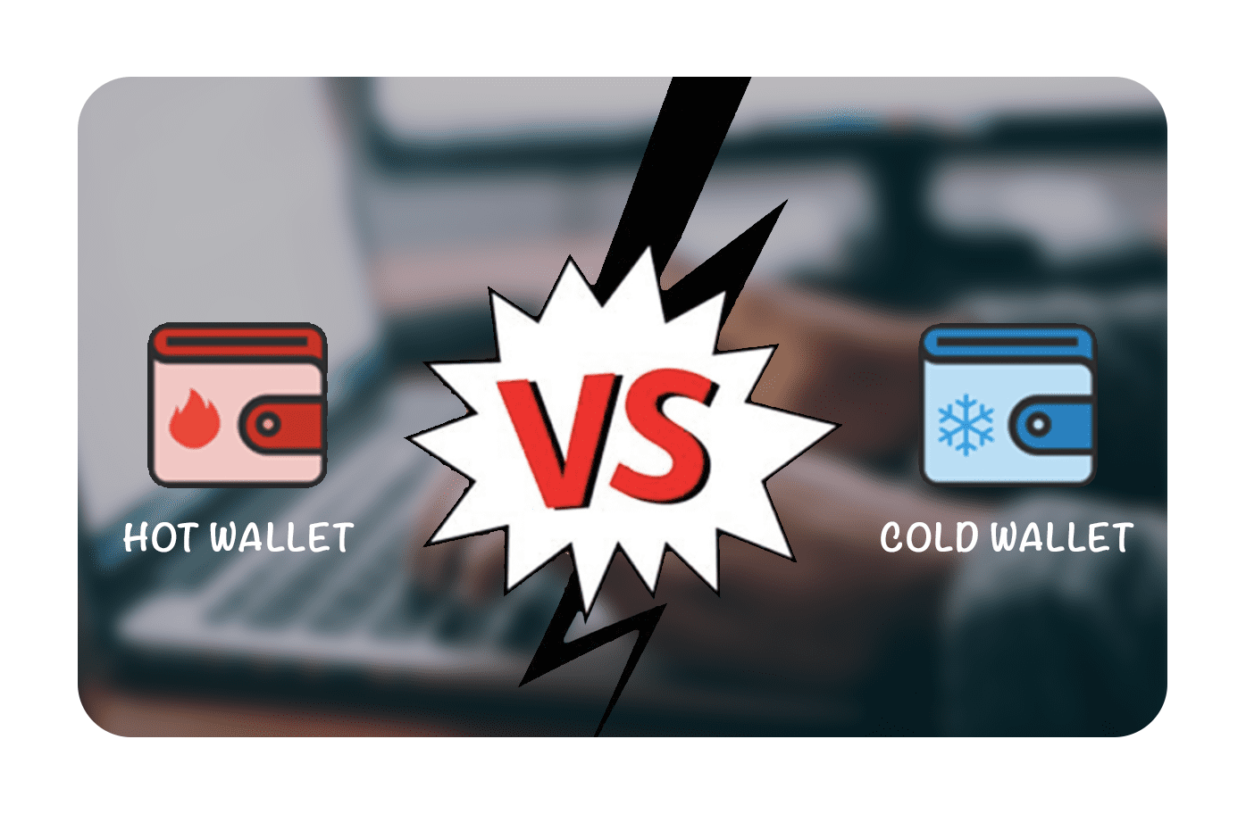 hot and cold wallets