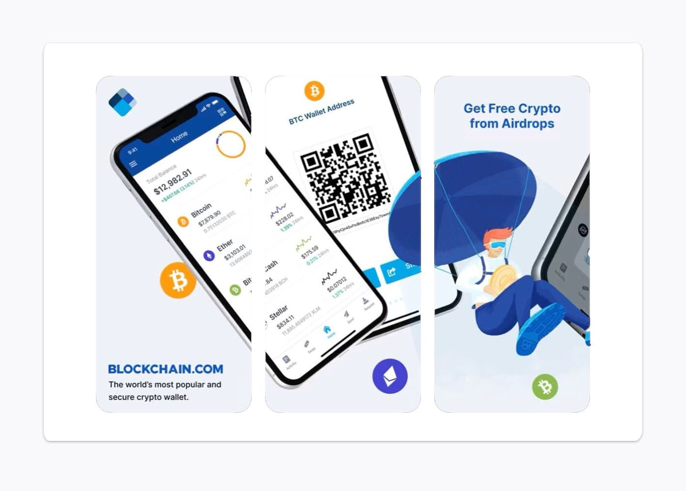 mobile version blockchain wallet